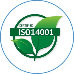 ISO 14001:2015Certification:-